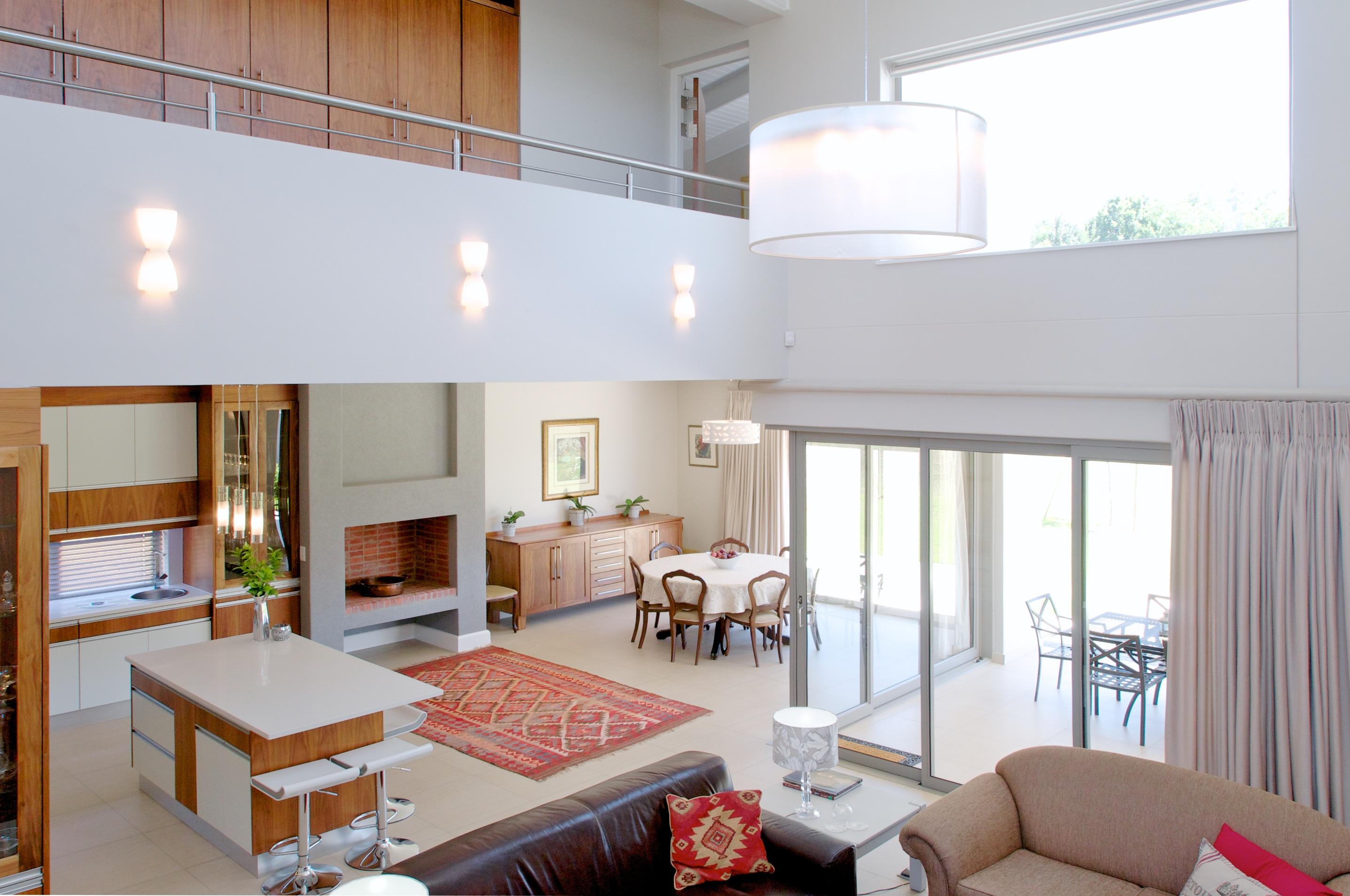 House Van Rensburg - Welgemoed Golf Course, Bellville - Van Biljon Bernardo Architects - Kwali Mark Costruction